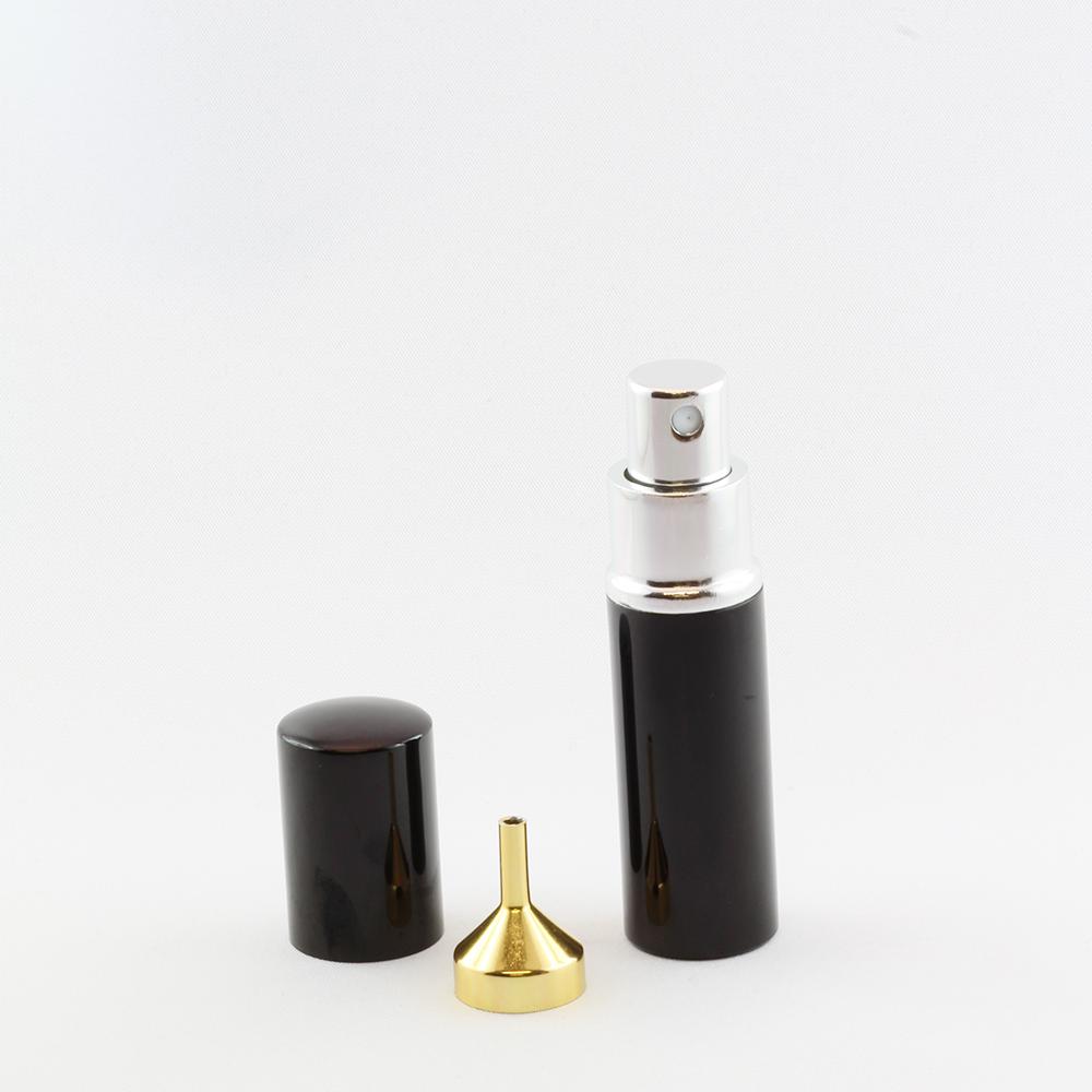 Taschenzerstäuber 10 ml schwarz leer