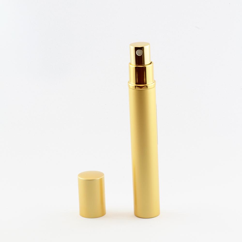 Taschenzerstäuber 12 ml gold leer